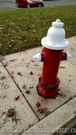 Damaged Fire Hydrant