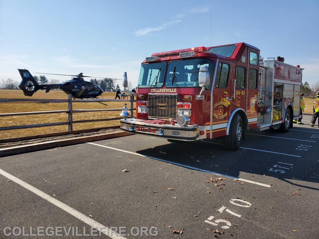 Squad 34 at Landing Zone at PV High School Campus.